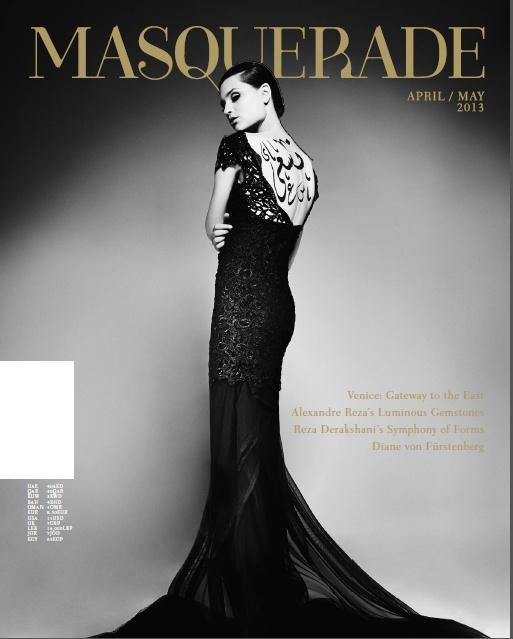Titelblatt der Zeitschrift Masquerade