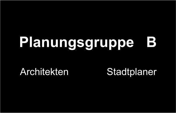 Logo Planungsgruppe B