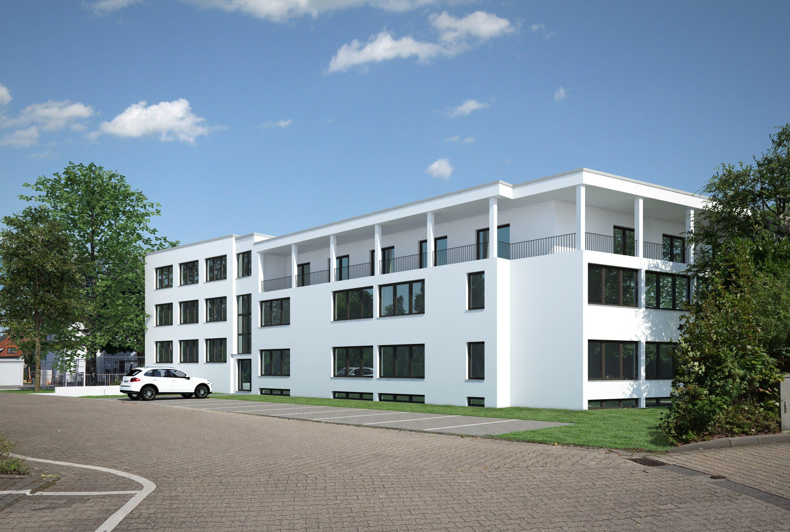 Wohngebäude 3D-Modell
